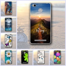 Buy luxury Cases Xiaomi Redmi 3x Mobile Phone Back Cover 3D Printing Silicon shell Redmi 3x Cases TPU Soft fundas Coque for $1.34 in AliExpress store