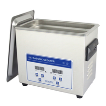 Stainless Steel 3.2L 120W Digital Optical Lens Glassess Ultrasonic Cleaner JP-020S with 1 Free Basket 110v 220v Available(China (Mainland))