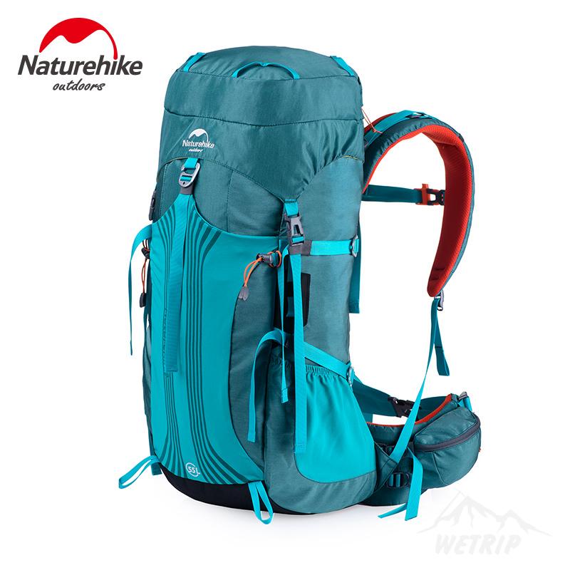 NatureHike Outdoor camping Bag 65L 55L Men Women Hiking Climbing rucksack large capacity NH Sport Waterproof backpack