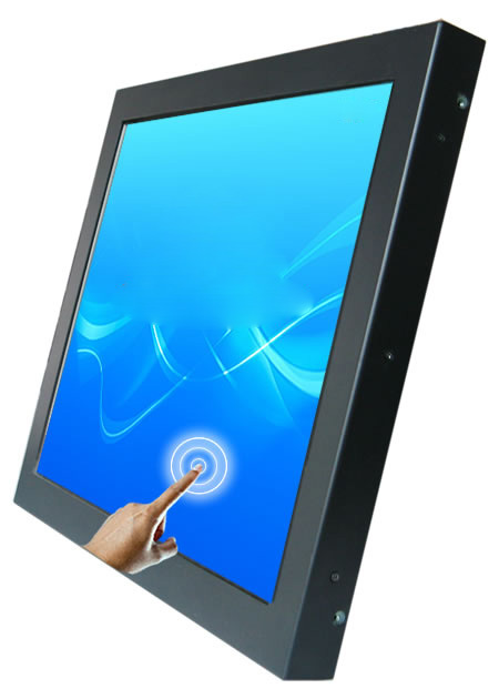Low Price Top Sell 22 Inch SAW Touch Open Frame LCD Monitor! Free Shipping!(China (Mainland))