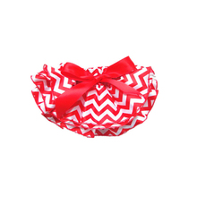 Baby Girl Satin Ruffle Bloomer 3 Layer Striped Pattern With Bowknot Kids Underwear Diaper Covers Shorts For 0-24M(China (Mainland))
