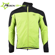 ROCKBROS Cycling Sports Men's Bike Bicycle Cycle Long Sleeve Windproof Breathable Quick Dry Jersey Wind Coat Rain Coat Jacket(China (Mainland))