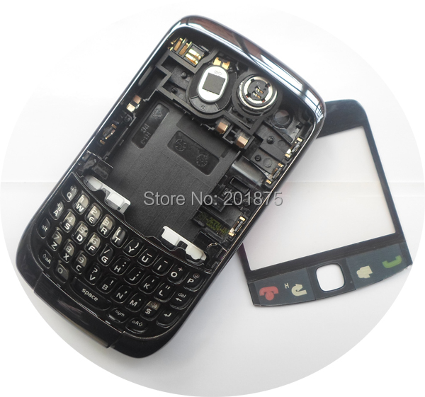 Free shipping retail original mobile phone housing for Blackberry Curve 9300, cover for blackberry curve 9300(China (Mainland))