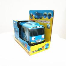 Горячая продажа 1:38 масштабная модель автомобиля tayo дети миниатюрный автобус мини пластиковые детей игрушки маленькая тайо tayo автобус Рождественский подарок