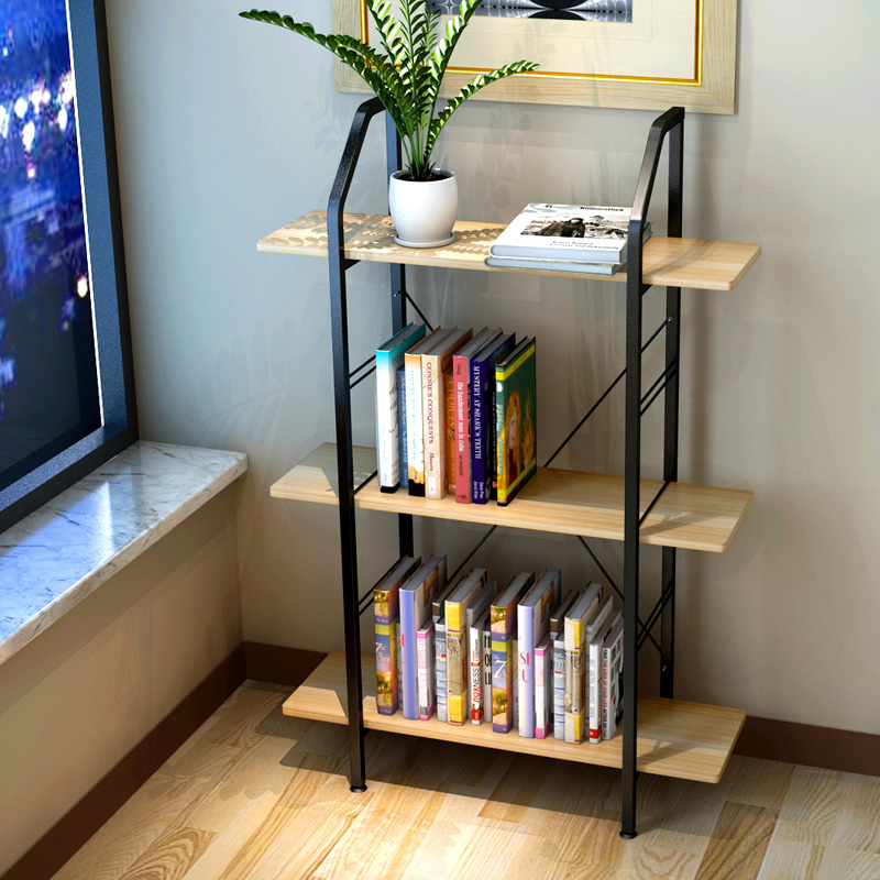 Buy resistant home bookshelf minimalist desk bookcase combination of low - Small space bookshelf collection ...