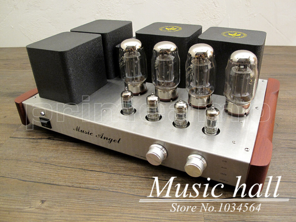Music Angel XDSE KT88 Stereo Class A parallel push-pull Valve Vacuum Tube Hi-end Integrated Amplifier 110~240V(China (Mainland))