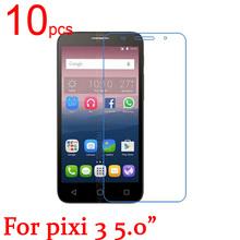 1 glossy/Matte/Nano anti-Explosion LCD Screen Protector Film Alcatel One Touch pixi 3 OT 5065 5015 5.0 inch Film+cloth - EDG Digital Technology store