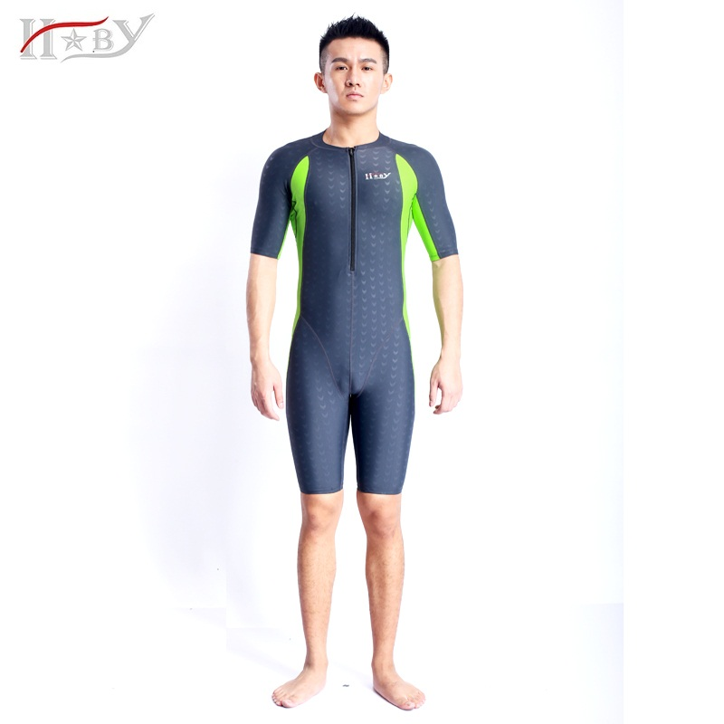 HXBY Anti-UV Polyester swimwear protective swiming suit tight  water sport wetsuits unisex diving suit rushguards men and women<br><br>Aliexpress