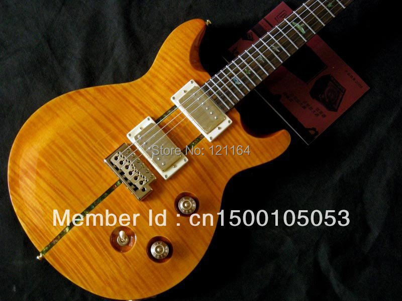 best Reed 25th Anniversary Santana Electric Guitar OEM Musical Instruments Free Shipping!!!!!(China (Mainland))