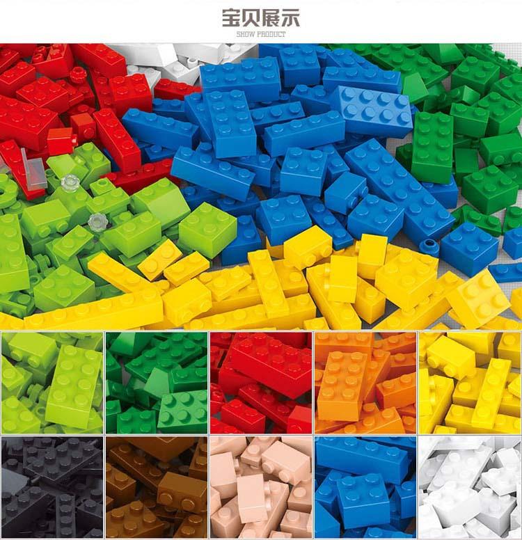 Hot Sale 415pcs Legoe Compatible Building Blocks DIY Creative Bricks Toys for Children Educational Bricks Blocks Toys