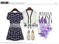 Улица женщин платье летние новые моды Европейский стиль цветочным принтом плюс размер Винтаж короткое платье