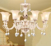 Webetop Crystal Chandelier Bedroom Lustres de Cristal Indoor Light Glass Lampshade 4 Types Chandeliers Home Decor Lighting LED(China (Mainland))