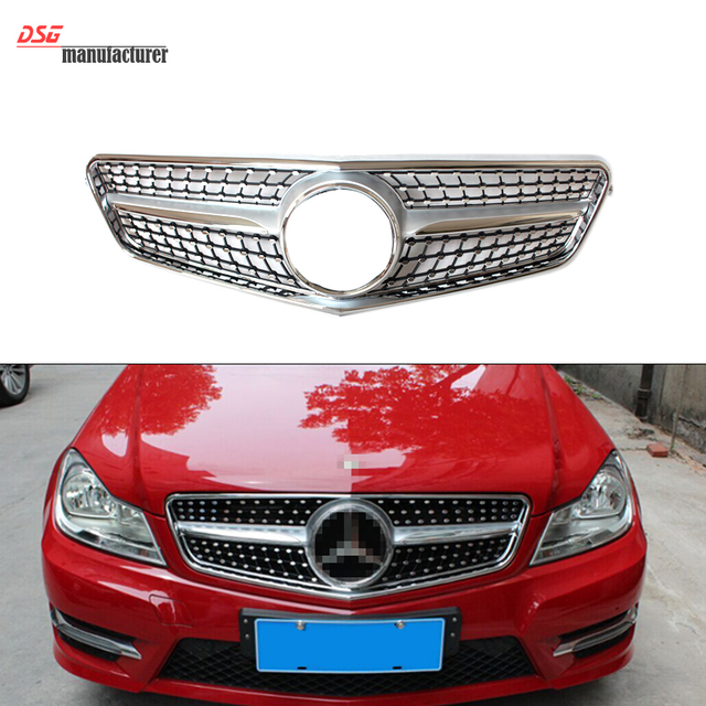 Buy mercedes w204 abs front bumper for Mercedes benz c300 grill