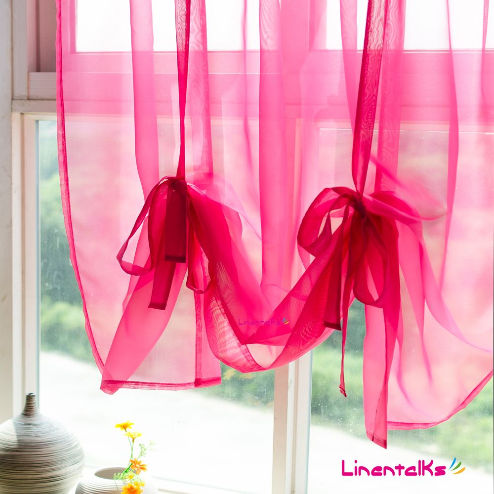Online kopen wholesale solid color kitchen curtains uit china ...