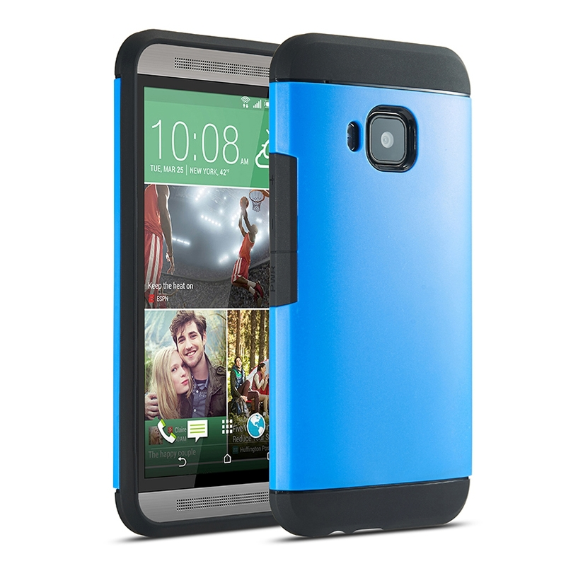 Brand New Cheap for HTC One M9 Case Cover Armor PC + TPU Combination Protective Case for HTC One M9 High Quality(China (Mainland))