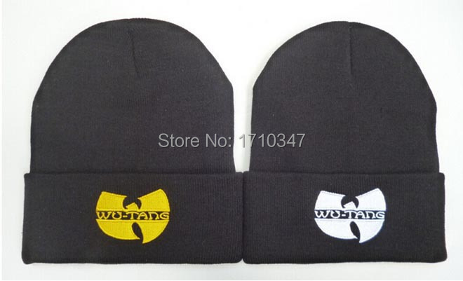 new wu tang clan old school bboy skateboard wool knitted Beanies Hats Fashion street wear hiphop warm winter knitted skullies(China (Mainland))