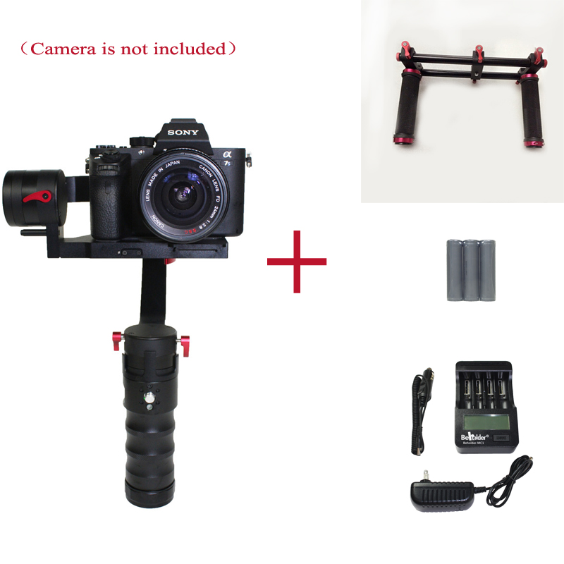 In stock! Beholder DS1 Handheld Stabilizer 3-Axis Brushless Gimbal 5D GH4, A7 VS Nebula 4000 lite Beholder MS1 Gimbal<br><br>Aliexpress