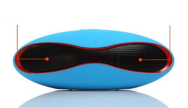 Hot! New Mini Portable Wireless Speaker Stereo Bluetooth Speaker FM with Strong BassSupport TF Card for Smartphone Tablet Dec28