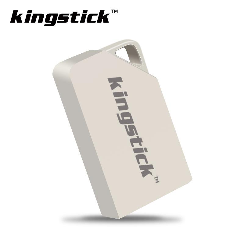 Kingstick mini metal USB flash drive USB 2.0 pen drive 4GB 8GB 16GB 32GB 64GB pendrive U disk memory stick freeshipping(China (Mainland))