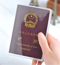 Transparent waterproof dirt ID Card holders passport cover business card credit card bank card holders(China (Mainland))