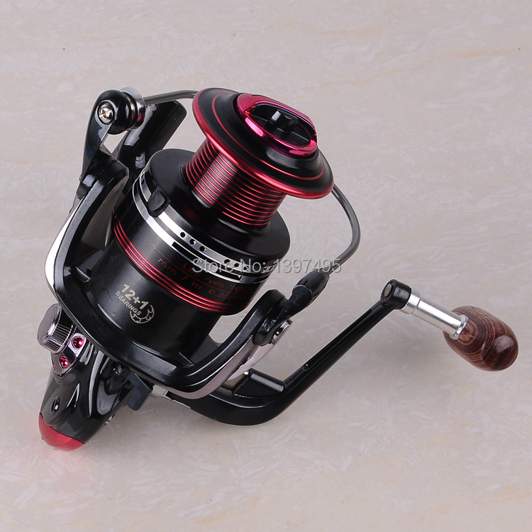 German Technology 12BB + 1 Bearing Balls 3000 6000 Series Spinning Reel Discount Hot Sale for Shimano Feeder Fishing reel pesca(China (Mainland))