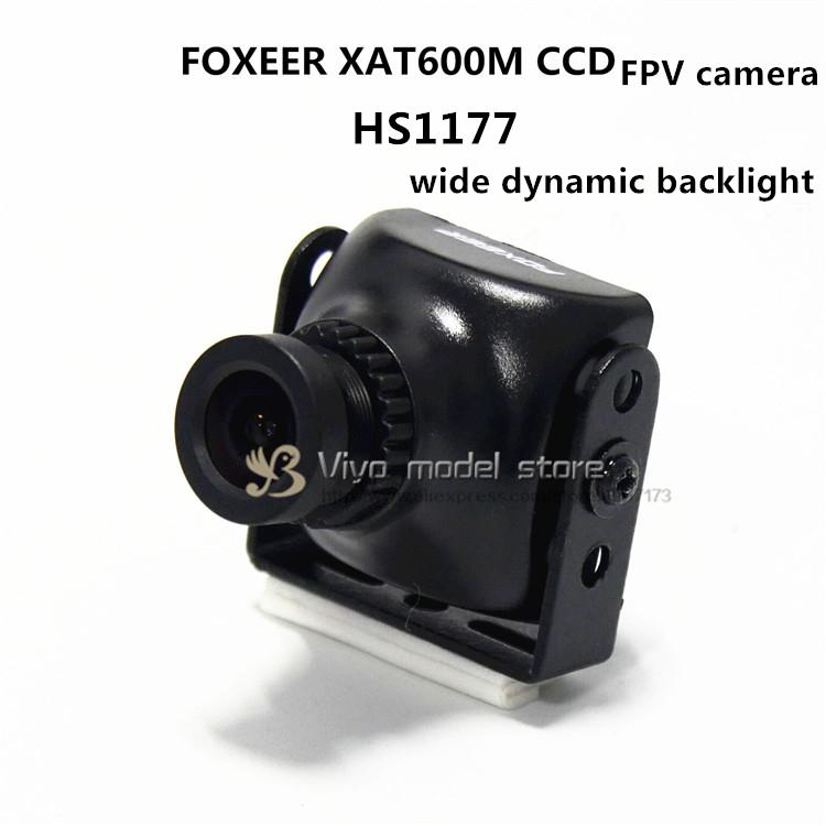 FOXEER XAT600M / HS1177 CCD camera wide dynamic backlight for DIY mini drone cross racing quadcopter QAV-R frame QAV(China (Mainland))