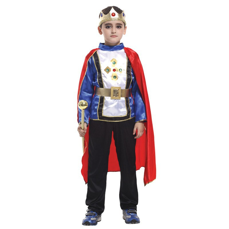 Free shipping Retail 3size 2015 new boys halloween king cosplay costumes Prince suit for kids full childrens costumeОдежда и ак�е��уары<br><br><br>Aliexpress