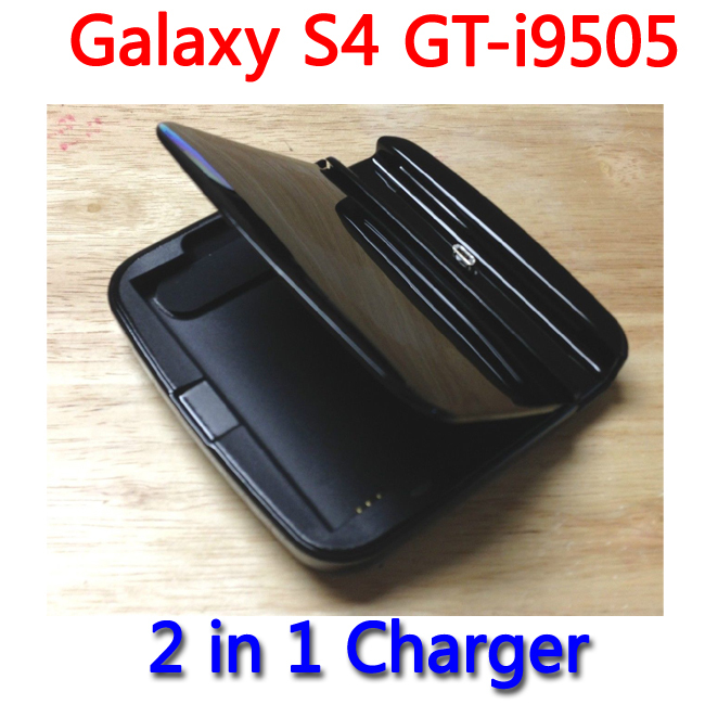 Black Desktop Cradle Sync Dock Stand Battery Charger for Samsung Galaxy S4 i9500 GT-i9500 Cargador Chargeur(China (Mainland))