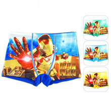 High quality boys underwear Cute cartoon pattern Boys shorts Antibacterial breathable cotton children panties Boxer Briefs