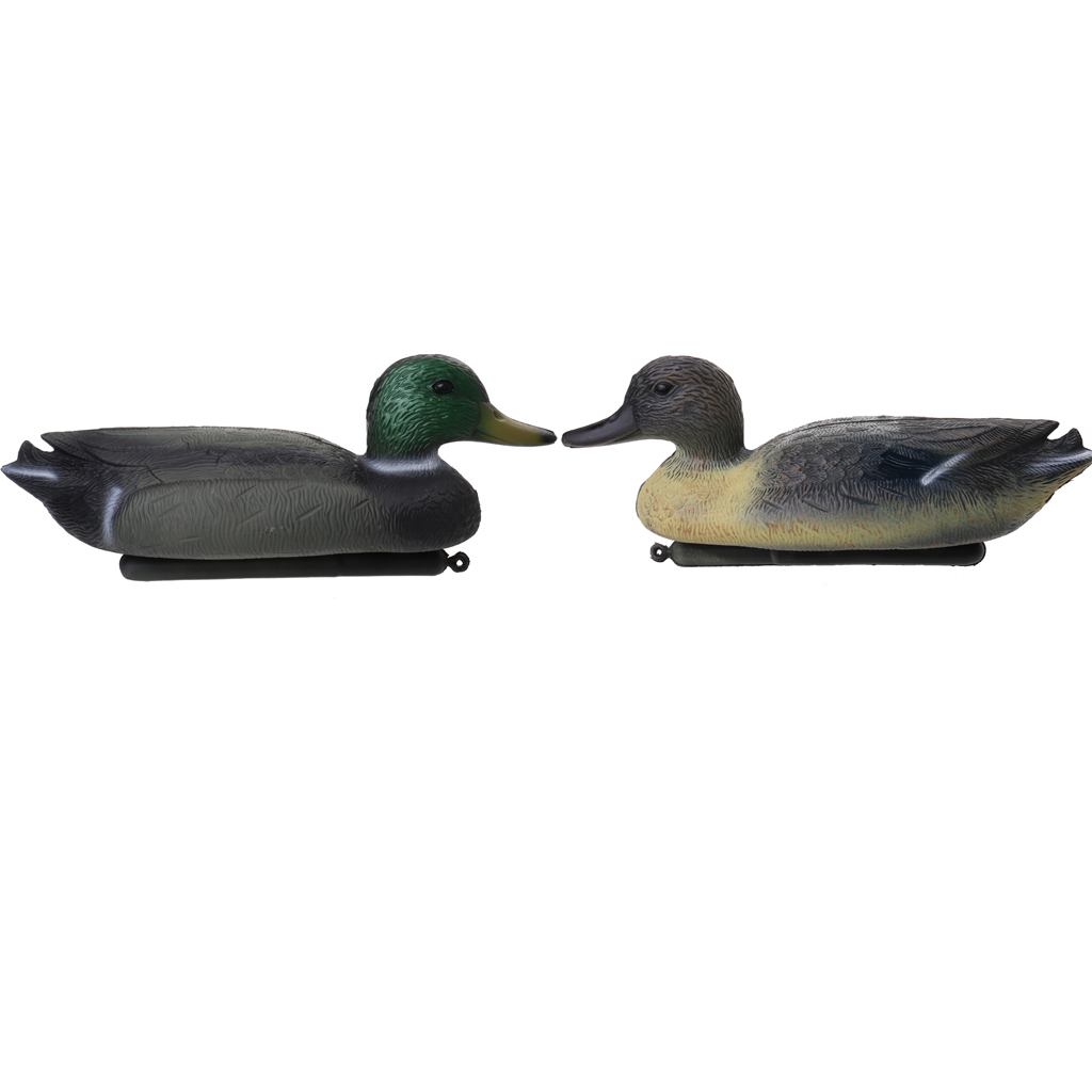 Durable Fishing Hunting Male Decoy Plastic Duck Decoy Drake w/ Floating Keel for Outdoor Camping Hunting Tactical Accessorie(China (Mainland))