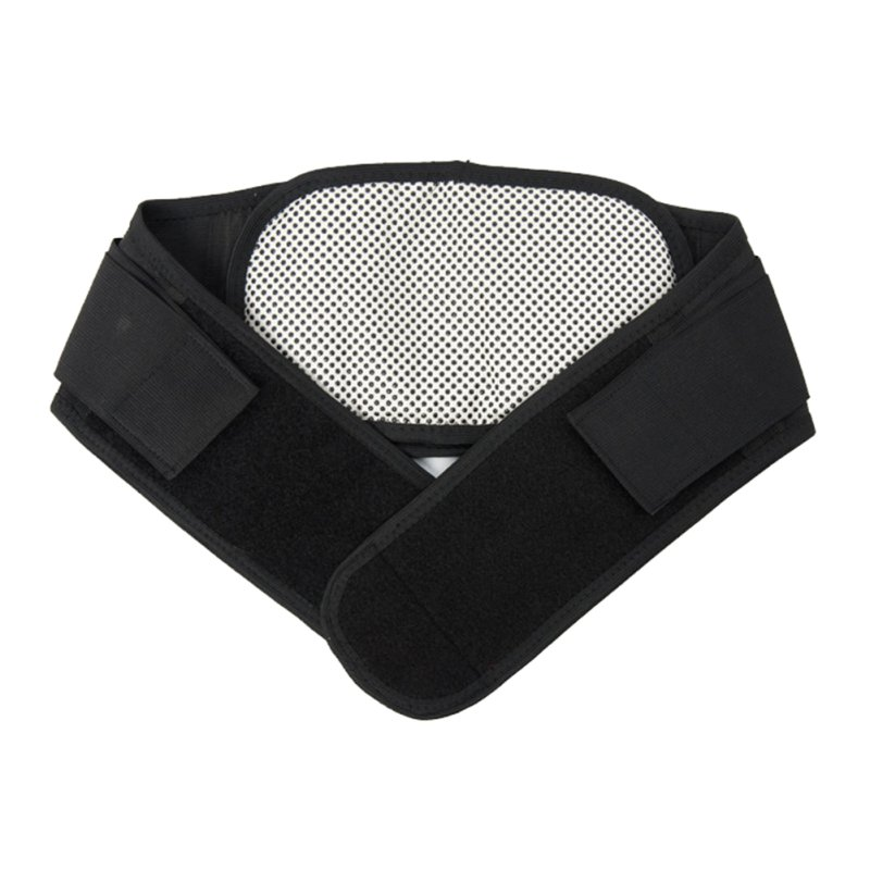 Adjustable Tourmaline Self-heating Magnetic Therapy Waist Belt Lumbar Support Back Waist Support Brace Double Banded aja lumbar(China (Mainland))