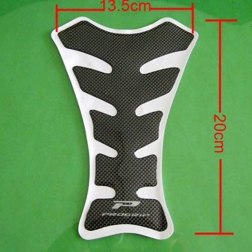 10pcs/lot Motorcycle Carbon Fiber Gas Tank Pad TankPad Protector