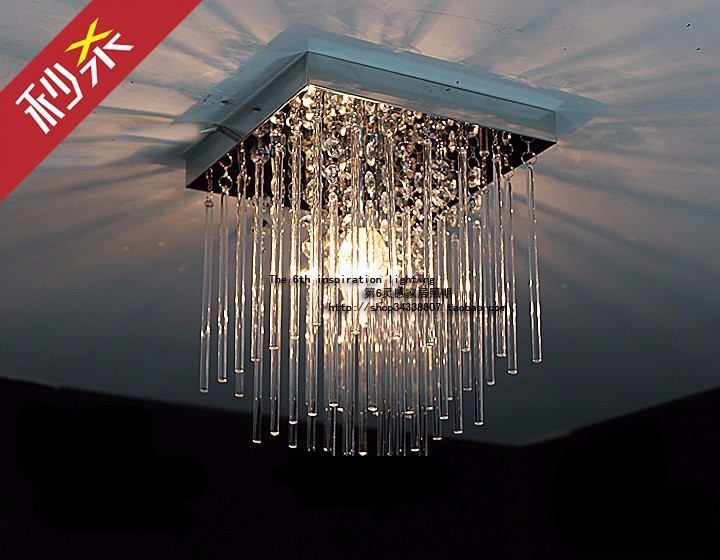 Plafoniere In Cristallo Miglior Prezzo : Acquista moderna plafoniera in cristallo quadrato lampade a led