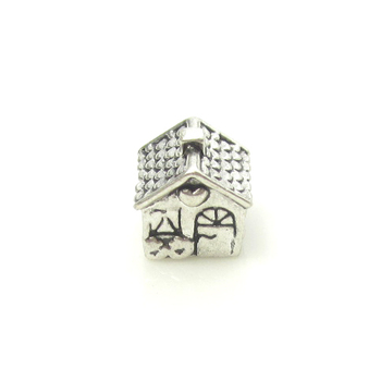 Cute Love & Family Silver Charm / Bead