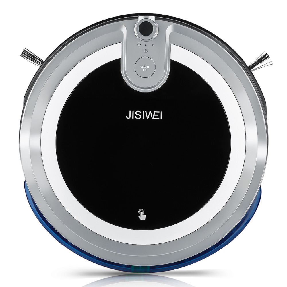 2016 NEW JISIWEI i3 Robot Vacuum Cleaner With APP Remote Control Anti-collision System Built-in HD Camera Four Cleaning Mode(China (Mainland))