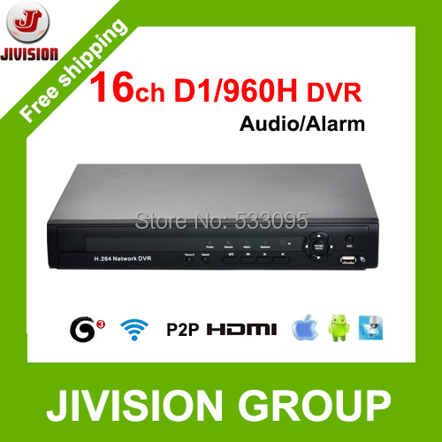 Full D1 DVR 16CH 960H CCTV DVR 3G wifi HDMI 1080P 16 channels DVR P2P Cloud CCTV digital video recorder H.264 DVR 16 Channel(China (Mainland))