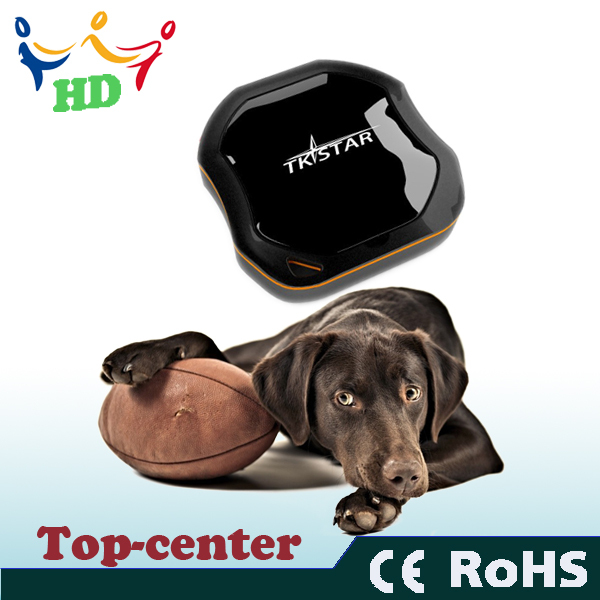 Top Sale on Ebay Mini Pet Dog Cat GPS/GSM/GPRS Tracker waterproof TKStar Global Real Time(China (Mainland))