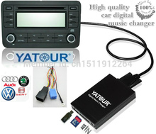 Yatour Digital Car CD changer SD MP3 AUX Bluetooth interface for VW Audi Skoda Seat Ford 8 Pin MP3 Adapter Interface(China (Mainland))
