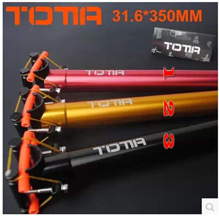 Totta bicycle mountain bike seatpost aluminum alloy road seat tube ultra-light post - Mountain accessories store