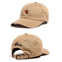 Rugosae Rose Floral Snapback yeezy Golf Hat Casquette Women Men Adjustable Deus HipHop Baseball  Drake OVO Gold OWL 6 Pray Cap(China (Mainland))