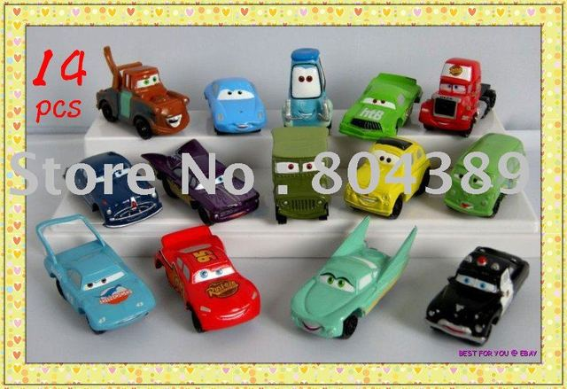 Free shipping/New listing/14 pcs/lot  mini Pixar Cars figure FULL SET New (pieces/lot)