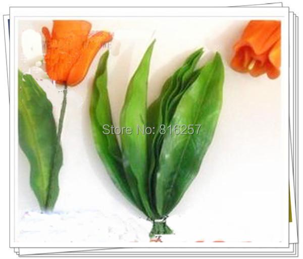 Листья от тюльпанов своими руками 50