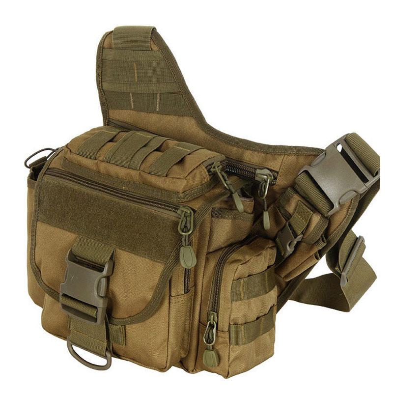 Multi-functional Military Tactical Messenger Shoulder Backpack Bag for Camping, Hiking, Trekking, Rover Sling<br><br>Aliexpress