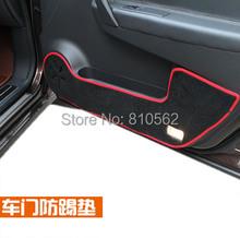 Free Shipping 2008 to 2014 Renault Koleos Fluence door pad car protection mat auto protection pad(China (Mainland))