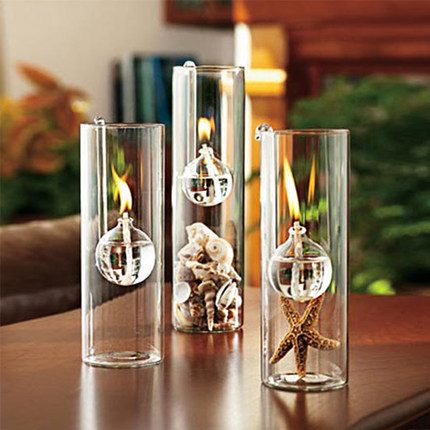 Glass Holders For Bottle Oil Lamps