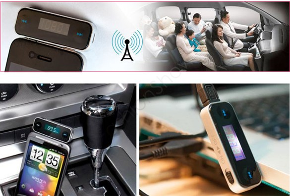 Full Frequency Range 3.5mm Car Wireless Mp3 Radio Fm Transmitter Modulator Transmissor For Phone SV16 TK1383(China (Mainland))