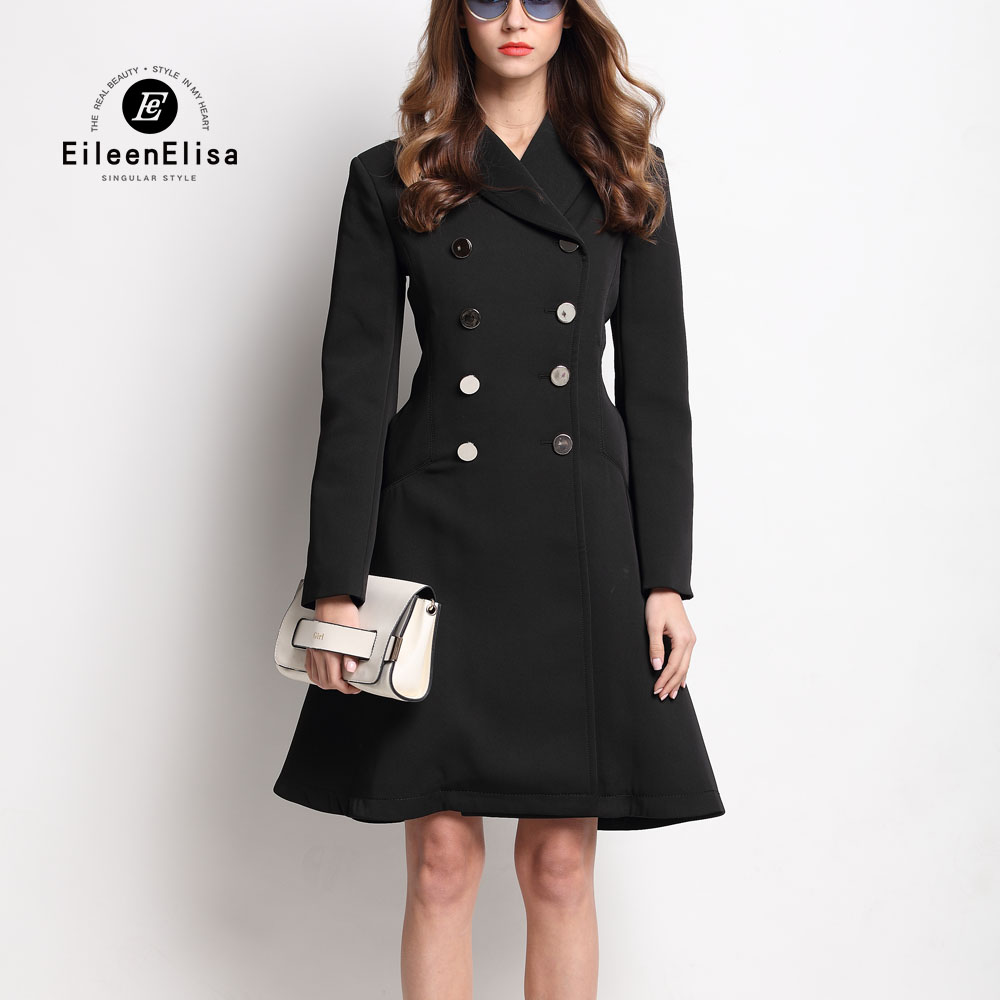 Popular Long Black Dress Coats-Buy Cheap Long Black Dress Coats ...