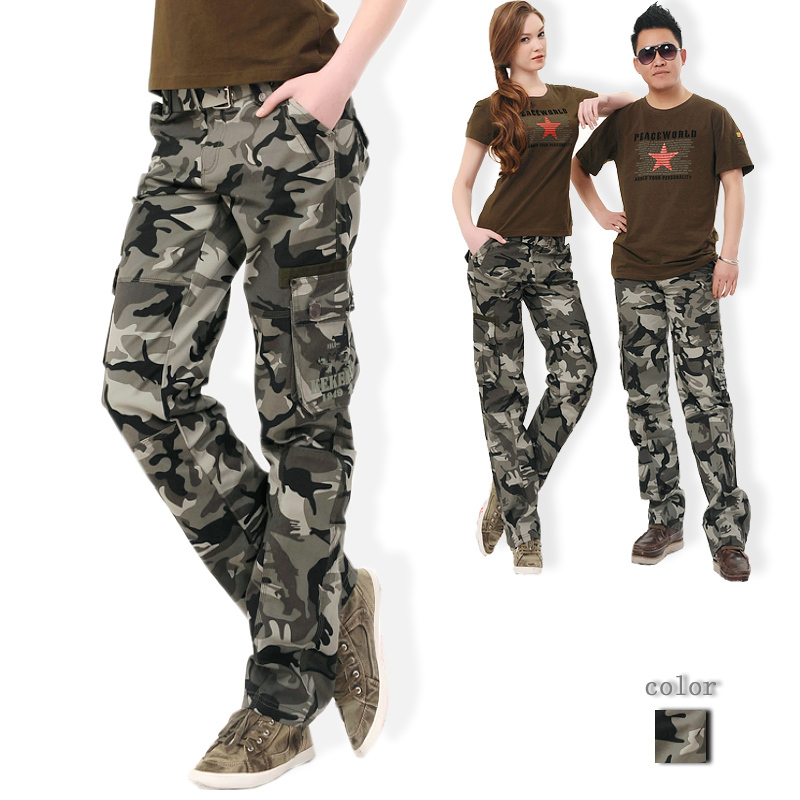 Popular Camo Cargo Pants for Women-Buy Cheap Camo Cargo Pants for ...