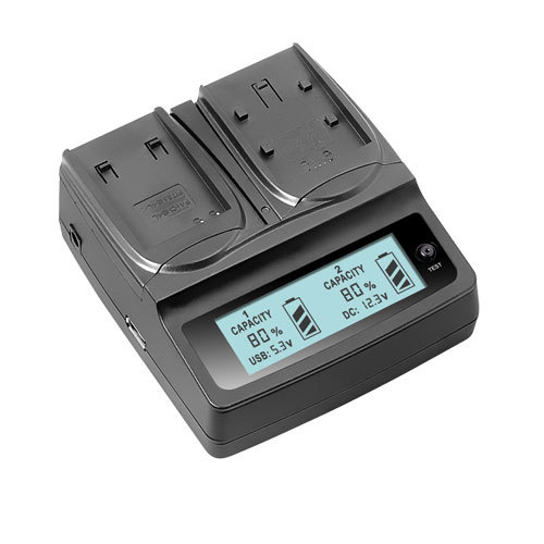 Udoli DMW-BLH7 BLH7 DMW-BLH7PP DMW-BLH7E Battery Charger with LCD Display For Panasonic Lumix DMC-GM1 GM1 DMC-GM5 GM5 DMC-GF7(China (Mainland))