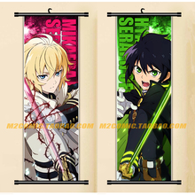 33X95CM Decor Seraph of the End Yuichiro Mikaela Japan cartoon anime wall scroll picture mural poster art cloth canvas painting